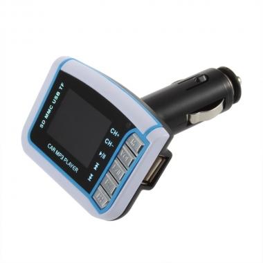 FM Transmitter USB/SD met groot display