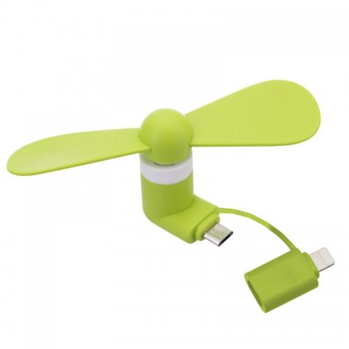 Smartphone ventilator micro USB en Lightning