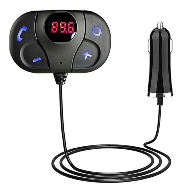 FM Transmitter bluetooth met kabel en USB oplader